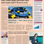 Front page of the Financial Times UK for Monday, October 27 http://t.co/h1mYfHruF3