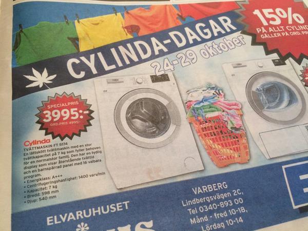 Hurra! Cylinda-dagar med hasch!!! http://t.co/waq0CyjWbO