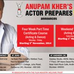 RT @actorprepares: Announcing the @actorprepares short courses schedule for the month of November 2014: http://t.co/beqgC806sN