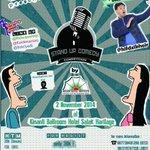 2 Nov : @Standup_BHI Competition | Kinanti Ballroom-Hotel Salak | @radixCEO @hifdzikhoir @ridwanremin @Koide_Namizo http://t.co/vhewbNKPMk