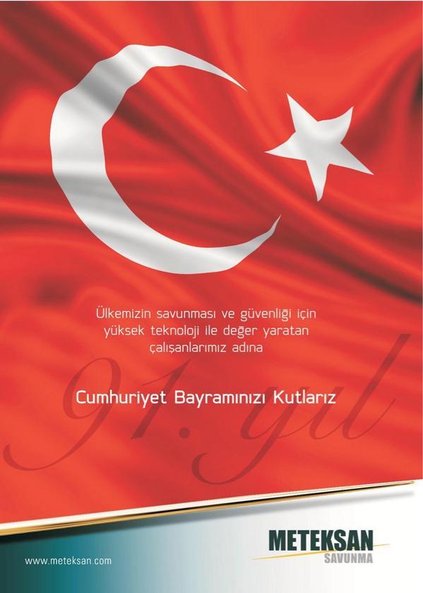 Cumhuriyet Bayramı'nızı kutlarız http://t.co/g8ZXnInLKb