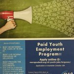 Jobs still available for 19-23 year-olds living in Ferguson and Dellwood via @StlYouthJobs http://t.co/CuOBpaNk34