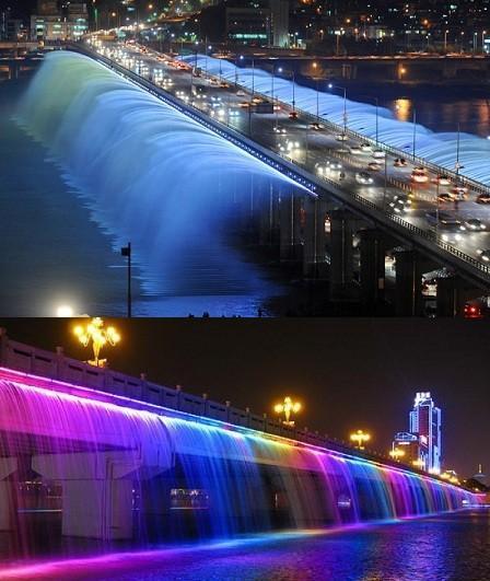 El Puente Banpo ubicado en Corea del Sur. http://t.co/ZS86bPlYCD