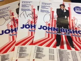 Fancy bagging yourself one of 3 signed posters by @JohnBishop100? Simply RT by midday tomorrow for a chance to win! http://t.co/Ych7fQ4Tmr