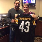 Thank you to the @steelers for making a #fabuwish come true this weekend in Pittsburgh! @thepinkagenda