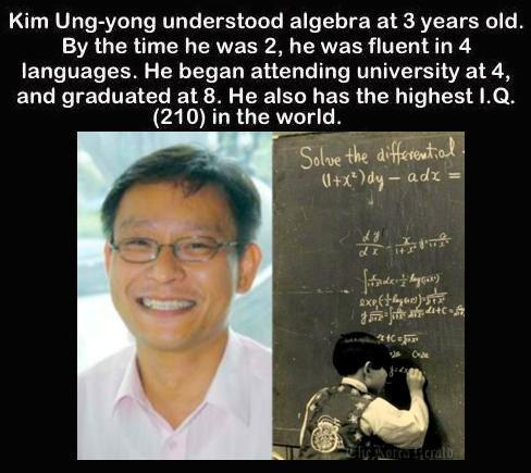 Man with the highest I.Q. in the World: http://t.co/LiQRQMSH9B