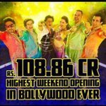 RT @TheRajKundra: Bollywood Ka biggest opener #HNY congrats @iamsrk @juniorbachchan & all the team. Hard work paid off!! http://t.co/cCbJlk…
