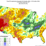 RT @NWSSacramento: With recent rains, far #NorCal is now faring well for October. The rest of #California?  Not nearly as well. #cawx http:…