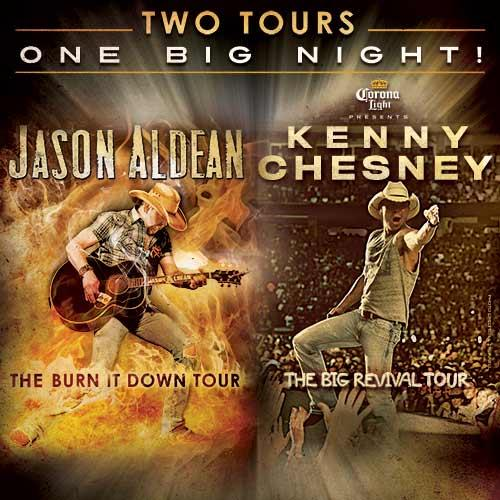 Jason & @kennychesney just announced 10 joint stadium shows! Details here: http://t.co/wcsdT47W8C http://t.co/xjdqzhwTay