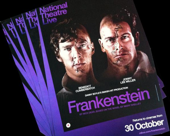 To celebrate US #ntFrankenstein encore screenings we're giving away limited run posters. RT for a chance to win one. http://t.co/BBvCL1HqMs
