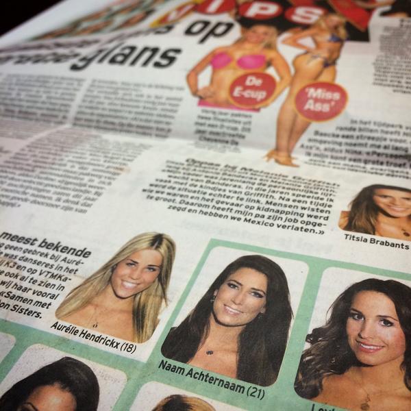 Naam Achternaam is nu al mijn favo kandidaat-Miss België! http://t.co/MRTFq0Kcwi