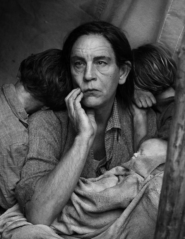 John Malkovich Pays Homage To Iconic 20th Century Images In This Wild Portrait Series