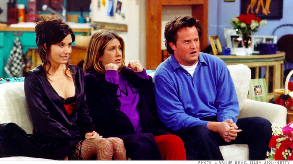 Every episode of #Friends will be there for you on @Netflix starting January 1:  http://t.co/ho31if9uLl http://t.co/Y2uZ7yBeiS