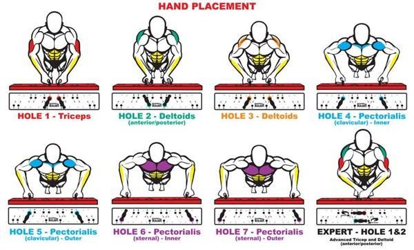 Te enseñamos qué parte de tu cuerpo estás trabajando según la colocación de las manos en las flexiones http://t.co/yEIxa4RQSK