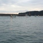 RT @CoveGuardians: Hunting vessels headed out for another day of stalking dolphins. 5:48am #tweet4taiji
