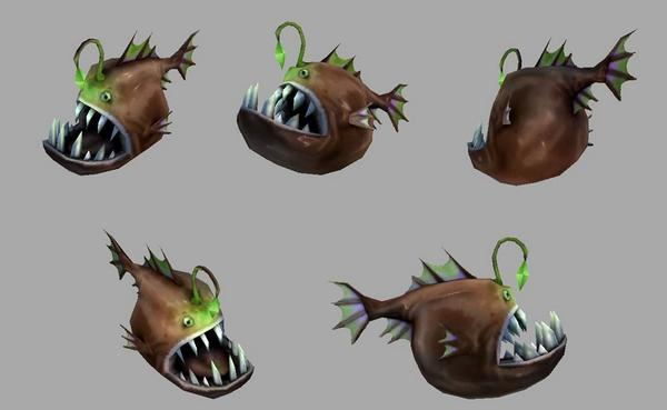 Did you know...That you can catch an Anglerfish!! He looks AWESOME!! I love him!! http://t.co/P8pYigzxBC