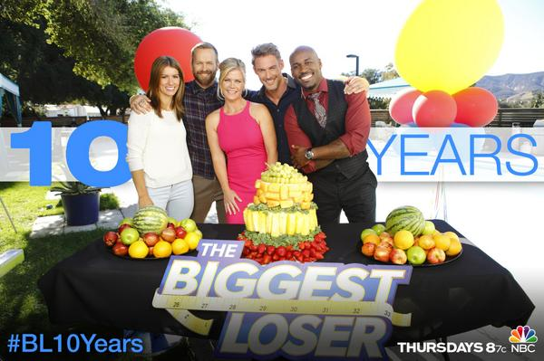 This month we celebrate 10 years of #BiggestLoser! RETWEET if the show has inspired you in some way. #BL10Years http://t.co/bzQ5w3ZoQX