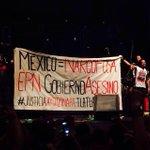 RT @Masde131ITESO: .@cafetacvba se une a la exigencia de #JusticiaParaAyotzinapa desde Guadalajara. #43ConVidaYa  Foto: @cano06 http://t.co…
