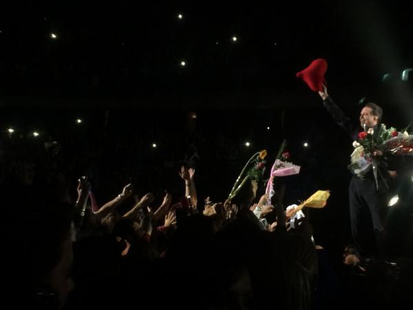 Entregando en corazón, increíble concierto.