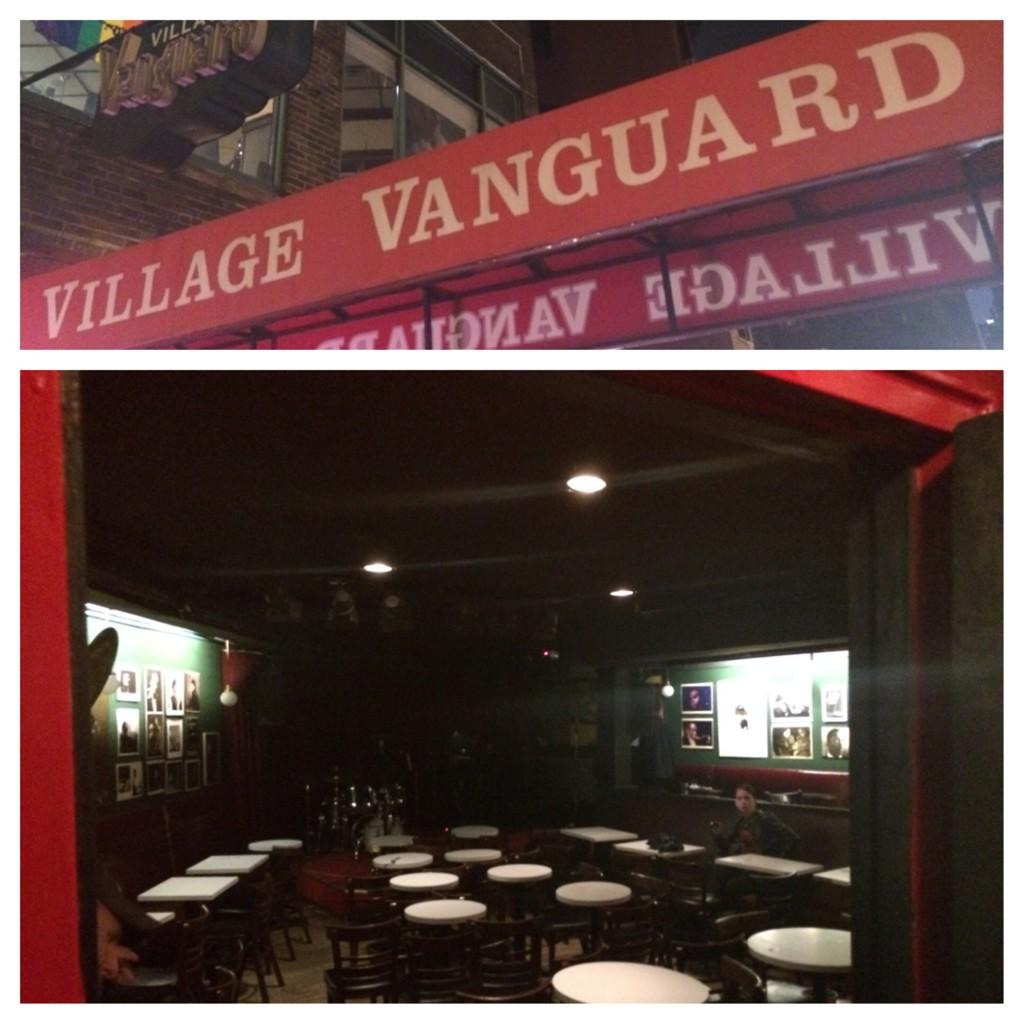 End of the night #villagevanguard after seeing trumpeter @tomharrell #jazz #nyc http://t.co/rzfGNPq4bt