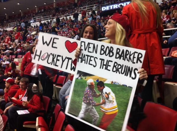 """@thebritneyham: I bet @ShooterMcGavin_ would enjoy this sign at the Wings game tonight! #thepriceiswrong #gowings http://t.co/xa5CyDYrBl"""