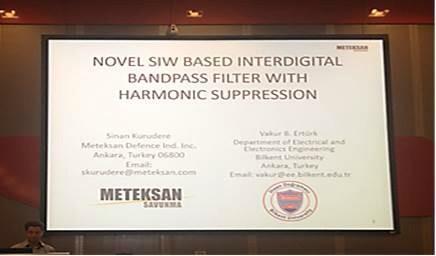 Roma'da 17. European Microwave Week EuMW konferansında Sinan Kurudere ve Dr.Vakur Ertürk bildiri verdiler. http://t.co/dsAC2fG3F7