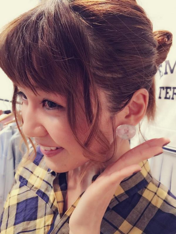 最新のヘアスタイル aaa 宇野 髪型  AAAの宇野実彩子ちゃん!展示
