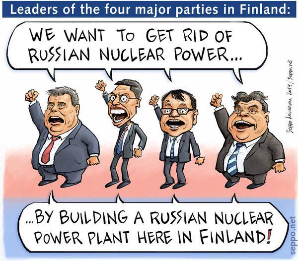 Finnish #nuclear energy policy illustrated. #Fennovoima #rosatom http://t.co/rWbJxrXaMG