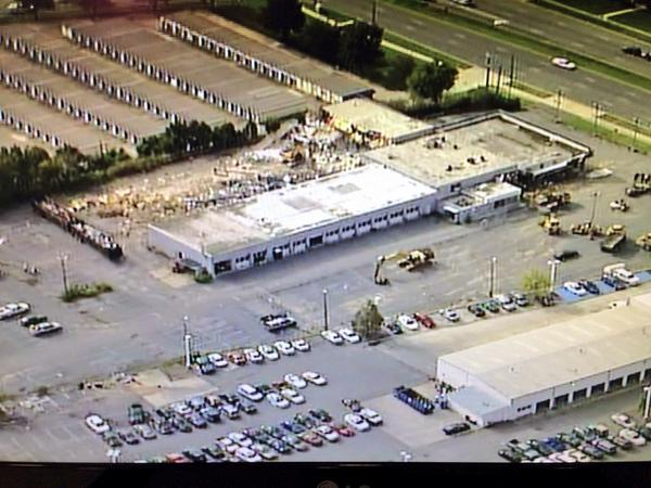 More 12 Sky 3 Is Over Demolition Of Scott Clark S Toyota City On