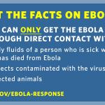 RT @WhiteHouse: RT to get the word out: Here are the facts on #Ebola: http://t.co/RMFwal2IB8 http://t.co/KR25pBZvaR