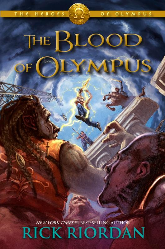 With 'The Blood of Olympus,' Rick Riordan (@camphalfblood) is back at No. 1 http://t.co/8Ui3JYqgjK http://t.co/GR8wrVcQfo