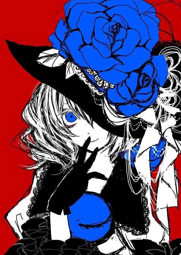 薔薇色の怪物#深夜の真剣お絵描き60分一本勝負 http://t.co/n12q7HwEPL
