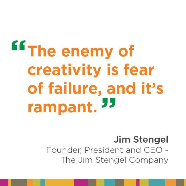 Some very inspirational words from @JimStengel #ANAMasters #ANA  #ANAMarketers #Orlando #creativity http://t.co/eycK0dYR0R