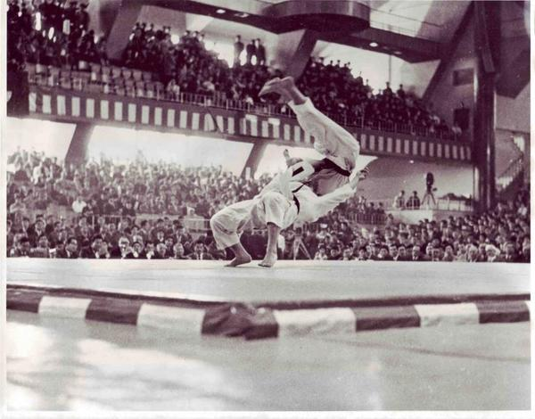 It's #TBT!!! Jim Bregman - USA Judo's first Olympic medalist with a bronze at the 1964 Tokyo Olympics 50 yrs ago!! http://t.co/26QhawQ3CB