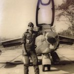 Nonchalance is a fighter pilot's best friend.   My father in 1978