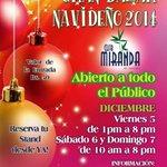 Se perfila como uno de los mejores de #Caracas el GRAN BAZAR NAVIDEÑO Club Miranda 5 a 7 de diciembre @acclubmiranda http://t.co/9w1TLwUUbu