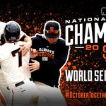 RT @SFGiants: THE #SFGIANTS WIN THE PENNANT! THE #SFGIANTS WIN THE PENNANT! WE'RE GOING BACK TO THE WORLD SERIES!!! http://t.co/Z2YCmJikQs