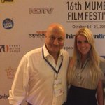 RT @Blonde_Mafia_: Powerful performance by my friend @AnupamPkher @Mumbaifilmfest  Buddha In A Traffic Jam is a must watch for all http://t…