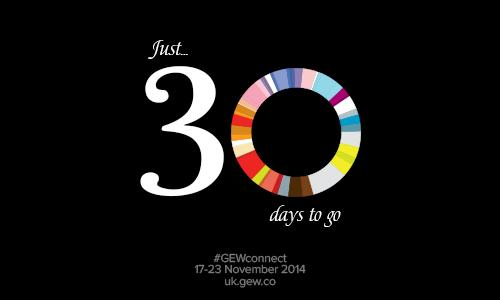 Only 30 days to go till Global Entrepreneurship Week! Are you ready to get connected? #GEWconnect http://t.co/CpYqeS2TdY