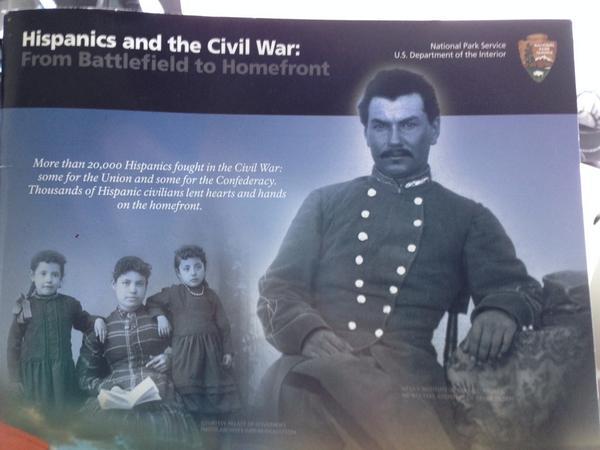 #WeNeedDiverseBooks Because even hardcore history nuts don't realize 20,000 Hispanics fought in the U.S. Civil War. http://t.co/J9B7bzAJ36