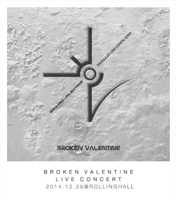 Broken Valentine Christmas Concert 2014.12.25 @rollinghall http://t.co/pTRTWXEbJv