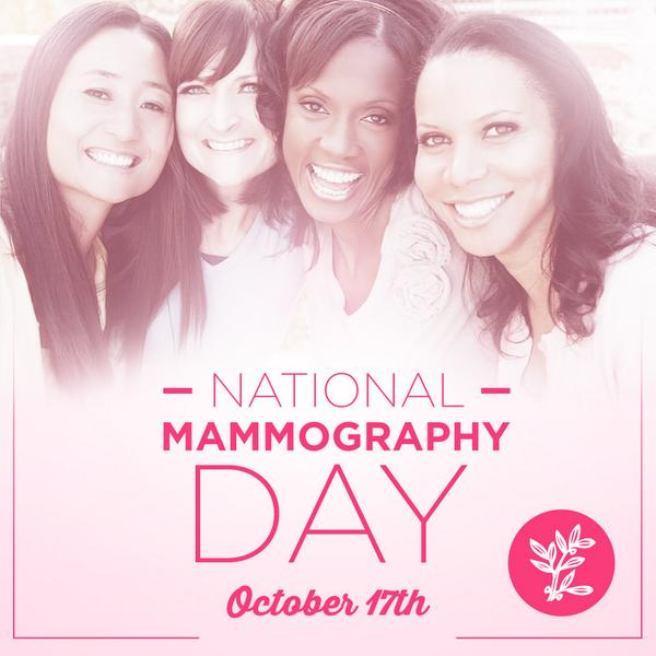 It's National Mammography Day! Read our blog post to learn more about why it's important: http://t.co/MdYfiJ3evc http://t.co/9fpeCWdxjo