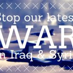 RT @WinWithoutWar: MT @naiman: Tell Congress: Demand a vote on our latest war in #Iraq & #Syria! #ISIS http://t.co/NZsyq3EqOC http://t.co/sd2NgDjbld