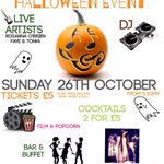 RT @WomynsWorld: #WomynsWorld Halloween Event THIS SUNDAY! #Nottingham #women Tickets 2-4-1 BOOK HERE - http://t.co/ieezmkJcx5 RT! http://t.co/CLpYfyfp12
