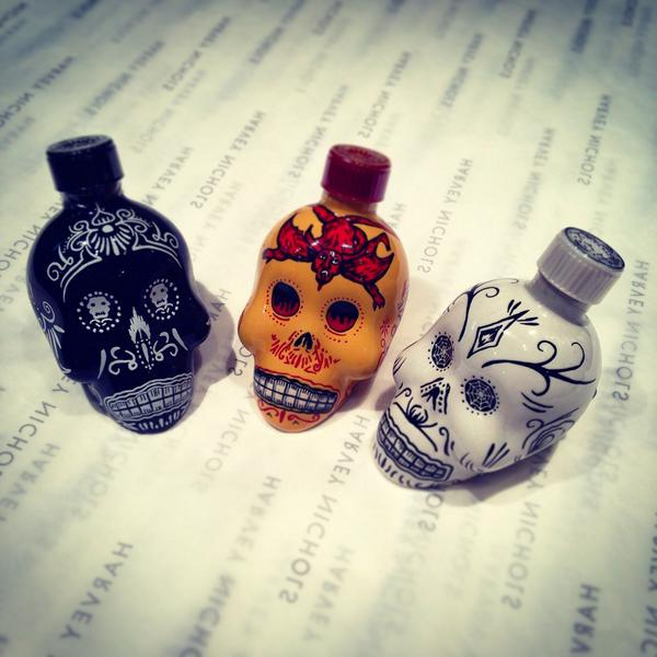 Creepy tequila shots from Day of the Dead, perfect for those spooky #Halloween parties! http://t.co/Dx5OjSB4E5