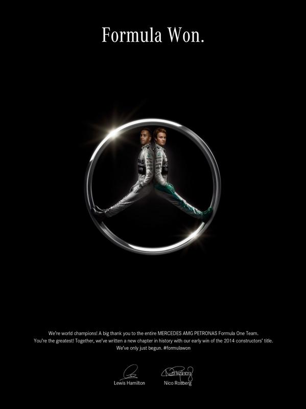 Great idea and pic @MercedesAMGF1 http://t.co/ayxq14F74X