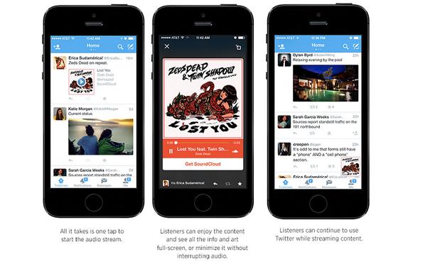 O Twitter fechou parceria com o SoundCloud e vai oferecer os Twitter Audio Cards: http://t.co/jTKRtoyNt8 http://t.co/74qg5dBXy7