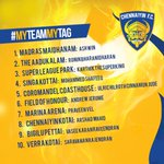 RT @ChennaiyinFC: Names havebeen shortlisted from all yr entries to have a fan name for our