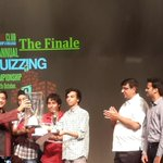 With the IIT Delhi team that won StStephen's Quiz on 40th anniversary of Quiz Club founding!130 teams,tough questions