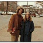 RT @HistoryInPics: Bill and Hillary Clinton as students, 1972 http://t.co/2NuhuVRKHG